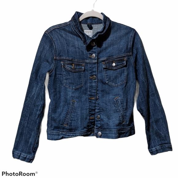 J. Crew denim jacket L
